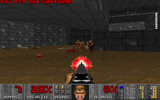 Screenshot Thumbnail / Media File 1 for Doom User Mod Buttman 3D (1994)(Id Software)