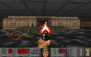 Screenshot Thumbnail / Media File 1 for Doom v1.1 to v1.2 Patch (1994)(Id Software)
