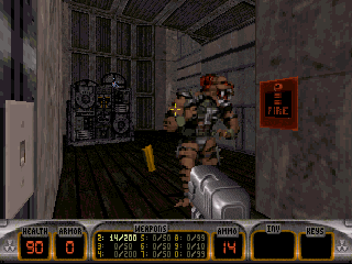 Screenshot Thumbnail / Media File 1 for Duke Nukem 3d (1996)(Atari Inc)(Rev1.7)