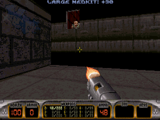 Screenshot Thumbnail / Media File 1 for Duke Nukem 3D Addon Nuke It (1996)(Crystal Vision)
