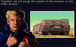 Screenshot Thumbnail / Media File 1 for Dune II The Building Of A Dynasty (1992)(Avalon Interactive)