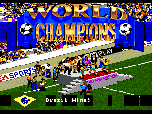 Screenshot Thumbnail / Media File 1 for FIFA International Soccer (1994)(The Creative Assembly)(Rev1)