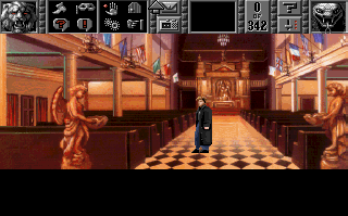 Screenshot Thumbnail / Media File 1 for Gabriel Knight Sins Of The Fathers (1993)(Sierra Online)
