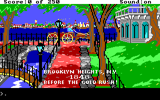 Screenshot Thumbnail / Media File 1 for Gold Rush (1987)(Sierra Online)