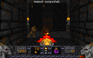Screenshot Thumbnail / Media File 1 for Heretic Shadow Of The Serpent Riders (1994)(Id Software)