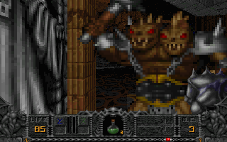 Screenshot Thumbnail / Media File 1 for Hexen Beyond Heretic (1995)(Raven Software)