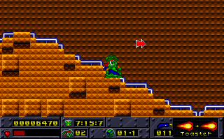Jazz Jackrabbit (1994)(Epic Megagames Inc) Game