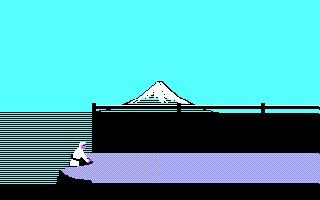 Screenshot Thumbnail / Media File 1 for Karateka (1984)(Broderbund Software Inc)