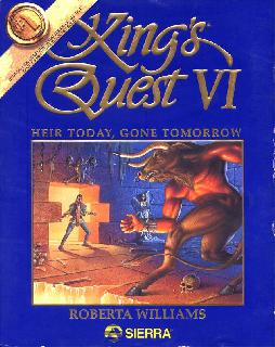 Screenshot Thumbnail / Media File 1 for Kings Quest Vi Heir Today Gone Tomorrow (1992)(Sierra Online)