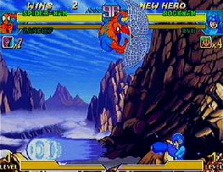 Screenshot Thumbnail / Media File 1 for Marvel vs. Capcom - Clash of Super Heroes (USA)