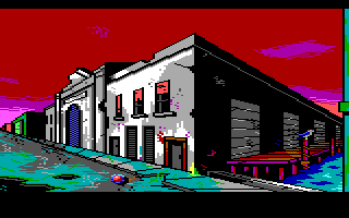 Screenshot Thumbnail / Media File 1 for Manhunter 2 San Francisco (1989)(Sierra Online)