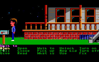 Screenshot Thumbnail / Media File 1 for Maniac Mansion (1988)(Lucas Arts)
