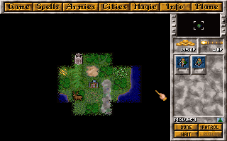 Screenshot Thumbnail / Media File 1 for Master Of Magic (1993)(Microprose Software Inc)