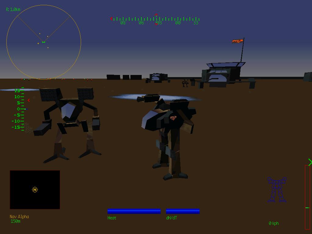 Mech Warrior 2 CD (1995)(Activision) Game < DOS Games