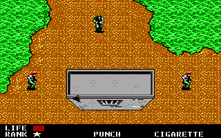 Screenshot Thumbnail / Media File 1 for Metal Gear (1987)(Konami)