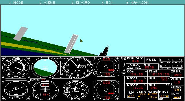 Microsoft Flight Simulator 2 1 (1988)(Microsoft Game Studios