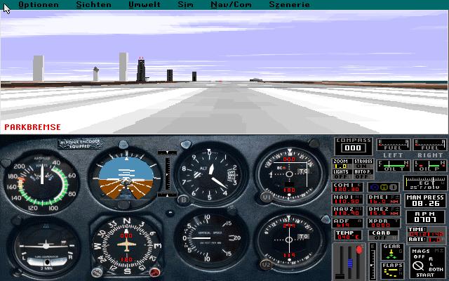 Microsoft Flight Simulator 5 Scenery Disk Paris (1993