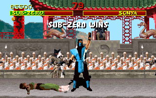 Screenshot Thumbnail / Media File 1 for Mortal Kombat (1993)(Acclaim Entertainment Inc)(Rev)