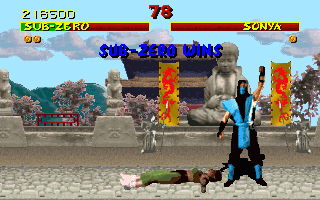 Screenshot Thumbnail / Media File 1 for Mortal Kombat Original Install (1993)(Acclaim Entertainment Inc)