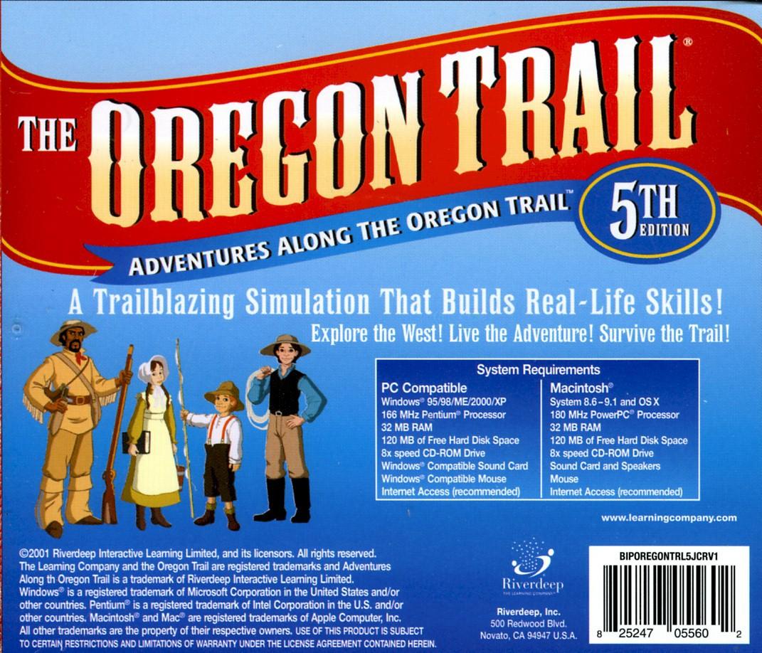 Oregon Trail (1990)(Mecc) Game < DOS Games   Emuparadise