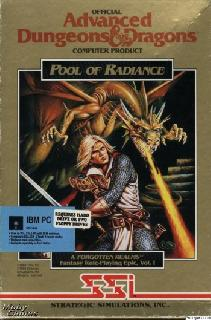Screenshot Thumbnail / Media File 1 for Pool Of Radiance (1988)(Strategic Simulations Inc)