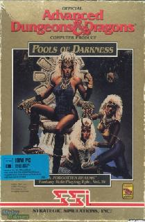 Screenshot Thumbnail / Media File 1 for Pools Of Darkness (1991)(Strategic Simulations Inc)