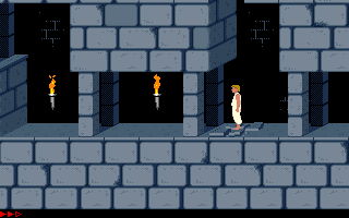 Screenshot Thumbnail / Media File 1 for Prince Of Persia (1989)(Broderbund Software Inc)