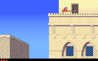 Screenshot Thumbnail / Media File 1 for Prince Of Persia 2 The Shadow And The Flame (1993)(Broderbund)