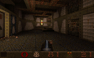 Screenshot Thumbnail / Media File 1 for Quake v1.08 (1996)(Id Software)