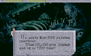 Screenshot Thumbnail / Media File 1 for Quest For Glory Iv Shadows Of Darkness (1993)(Sierra Online)