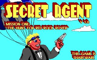 Screenshot Thumbnail / Media File 1 for Secret Agent Mission 1 (1992)(Apogee Software Ltd)