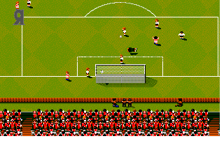 Screenshot Thumbnail / Media File 1 for Sensible World of Soccer European Championship Edition (1996)(Sensible Software)