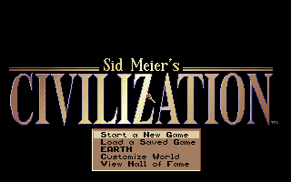 Screenshot Thumbnail / Media File 1 for Sid Meiers Civilization (1991)(Microprose Software Inc)