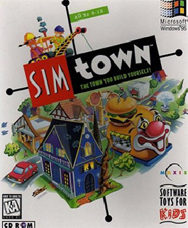 Screenshot Thumbnail / Media File 1 for Sim Town (1995)(Maxis)