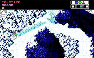 Screenshot Thumbnail / Media File 1 for Ski Or Die (1990)(Electronic Arts Inc)