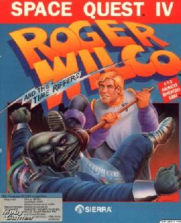 Screenshot Thumbnail / Media File 1 for Space Quest Iv Roger Wilco And The Time Rippers (1991)(Sierra Online)