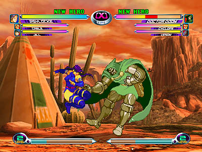 Resultado de imagen para Marvel vs Capcom 2: New Age of Heroes