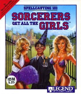 Screenshot Thumbnail / Media File 1 for Spellcasting 101 Sorcerers Get All The Girls (1990)(Legend Entertainment Company)