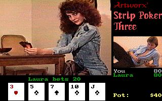 strip files Video poker