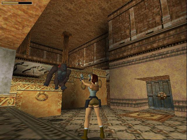 Tomb Raider 1996 Eidos Game Dos Games Emuparadise