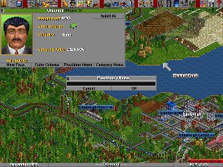 Screenshot Thumbnail / Media File 1 for Transport Tycoon (1994)(Microprose Software Inc)