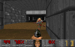 Screenshot Thumbnail / Media File 1 for Ultimate Doom, The (1995)(Id Software)