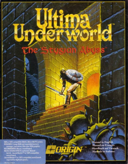 Screenshot Thumbnail / Media File 1 for Ultima Underworld The Stygian Abyss (1992)(Origin Systems Inc)