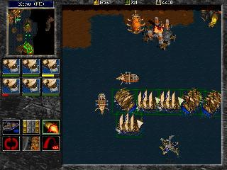 Screenshot Thumbnail / Media File 1 for Warcraft 2 Tides Of Darkness (1995)(Blizzard Entertainment)