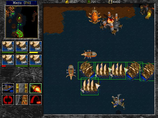 Warcraft 2 Tides Of Darkness 1995 Blizzard Entertainment Game