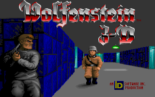 Screenshot Thumbnail / Media File 1 for Wolfenstein 3d (1992)(Activision Publishing Inc)