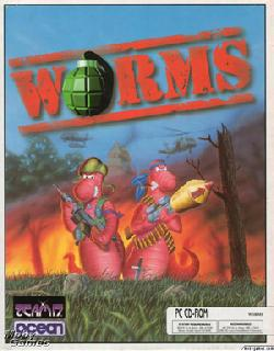 Screenshot Thumbnail / Media File 1 for Worms (1995)(Team 17)(Rev1)