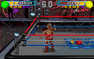 Screenshot Thumbnail / Media File 1 for WWF In Your House (1996)(Acclaim)