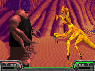 Screenshot Thumbnail / Media File 1 for Xenophage Alien Bloodsport (1995)(Apogee)