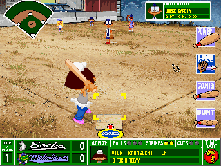 Screenshot Thumbnail / Media File 1 for Backyard Baseball (CD Windows)